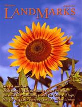 LandMarks cover August 2004