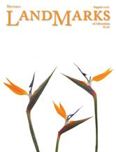 LandMarks cover August 2006