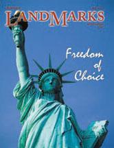 LandMarks July cover 2003