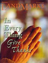 LandMarks cover November 2002
