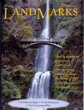 LandMarks cover March 2002