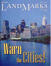 LandMarks cover March 2003