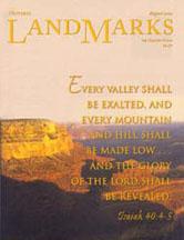 LandMarks cover August 2002