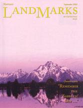 LandMarks cover September 2002