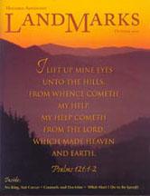 LandMarks cover October 2000