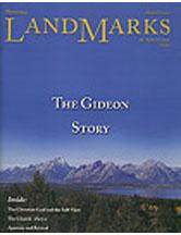 LandMarks cover October 2001