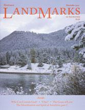 LandMarks cover December 2001