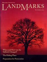 LandMarks cover September 2000