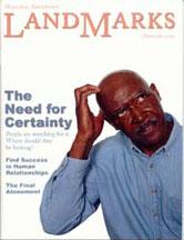 LandMarks cover February 2000
