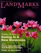 LandMarks cover April 2000