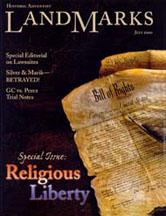 LandMarks cover July 2000