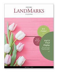 LandMarks April 2020 cover
