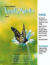 LandMarks cover July 1999