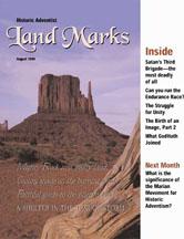 LandMarks cover August 1999