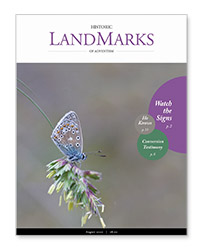 LandMarks August 2020 cover