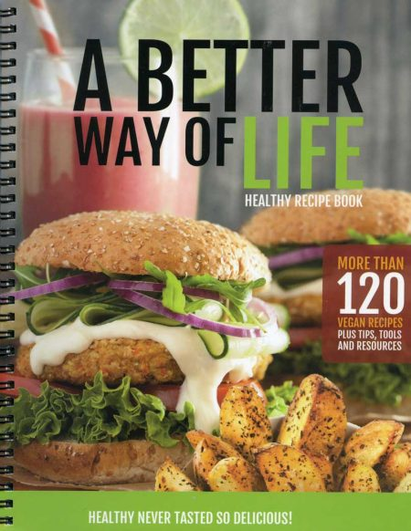 A Better Way of Life cookbook cover