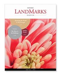 LandMarks August 2021 cover